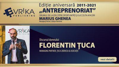 """Lansarea ediției aniversare a cărții """"Antreprenoriat"""" de Marius Ghenea"""